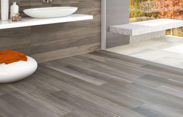 Bagno moderno finto legno ~ mattsole.com